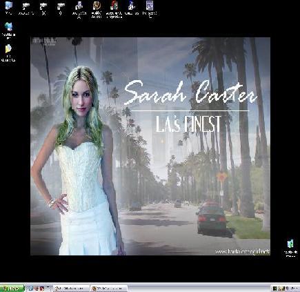 Mi fondo de pantalla ... Sarah Carter.